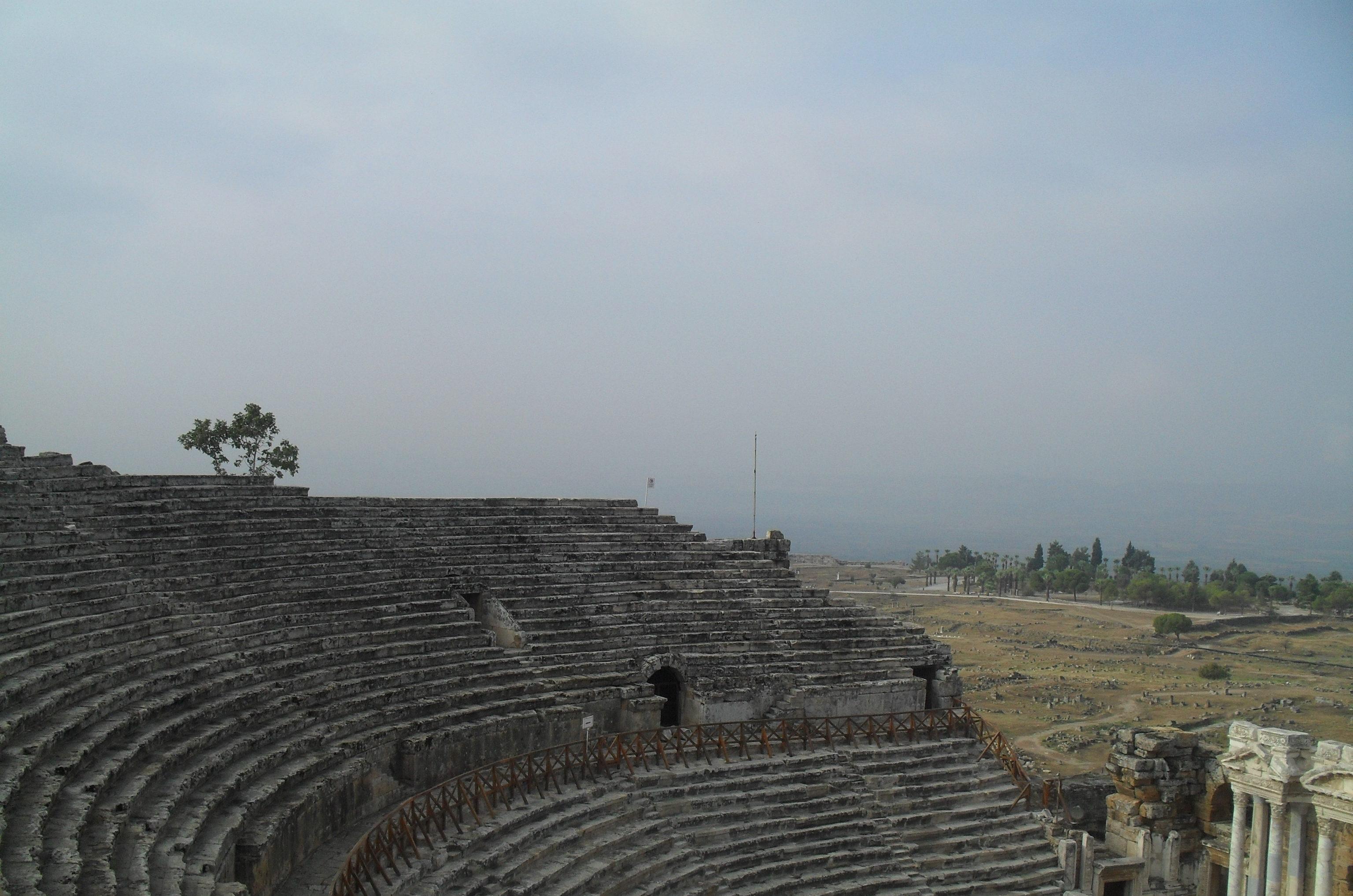 Амфитеатр в Иераполе Турция