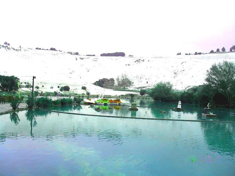 водоем в Памуккале Турция