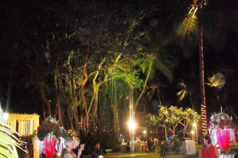 индийская свадьба проходила ночью