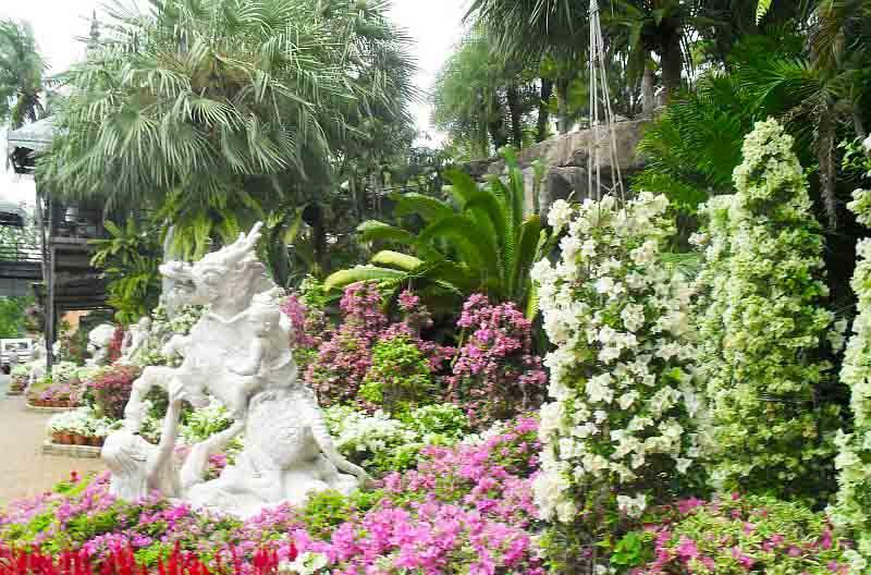 Тропический парк Нонг Нуч скульптура