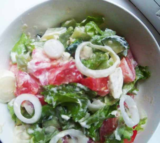 Как правильно есть отруби в салате