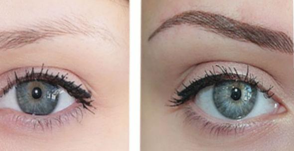 перманентный макияж бровей отзывы фото до и после