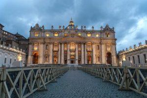 Италия вид на Ватикан