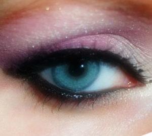 красивый макияж в розовых оттенках