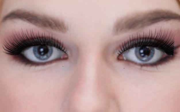 как красить ресницы глаза