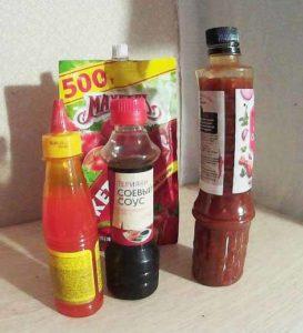 соусы и кетчупы-вредная еда