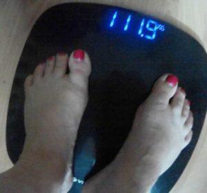 Большой вес показывают весы