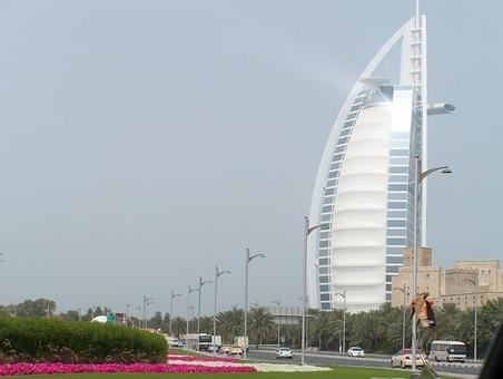 отдых в Дубае отель Парус