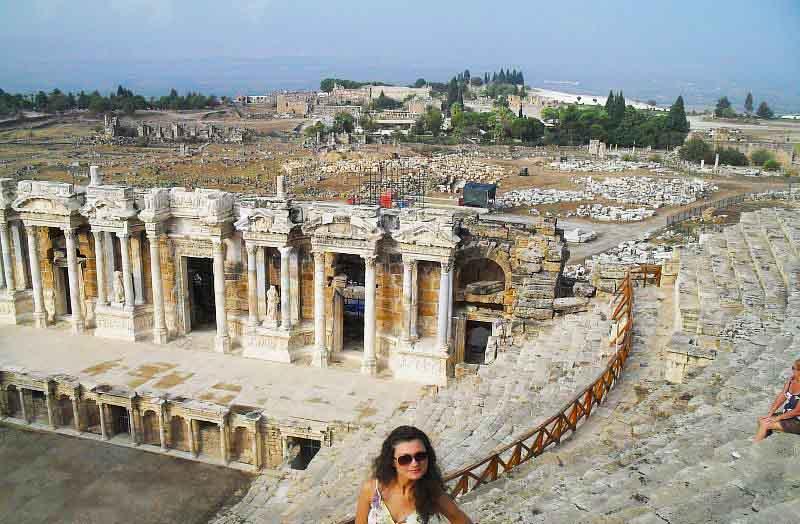 достопримечательности мира фото с  названиями: античный город Иераполис