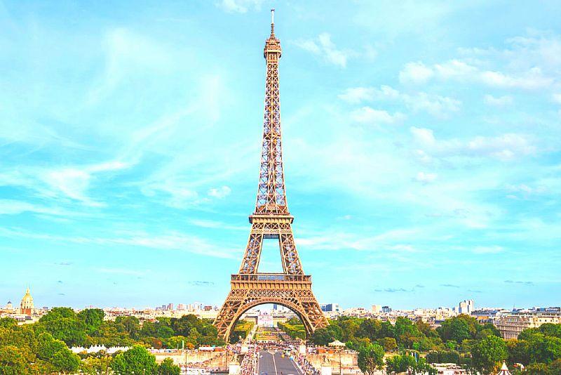 Достопримечательности мира фото с названиями: Эйфелева башня