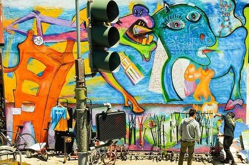 уличное искусство, Сан-Франциско
