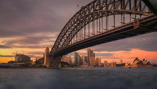 Сидней мост Харбор Бридж