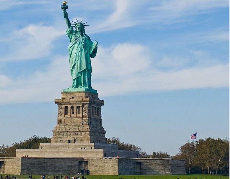 Достопримечательности мира фото с названиями: Статуя Свободы