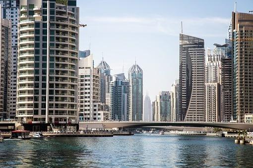 красивый город Дубай