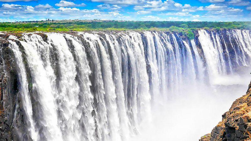 Достопримечательности мира фото с названиями: Водопад  Виктория