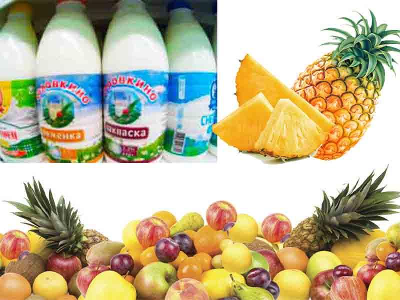 диеты фруктовые совмещают с кефиром