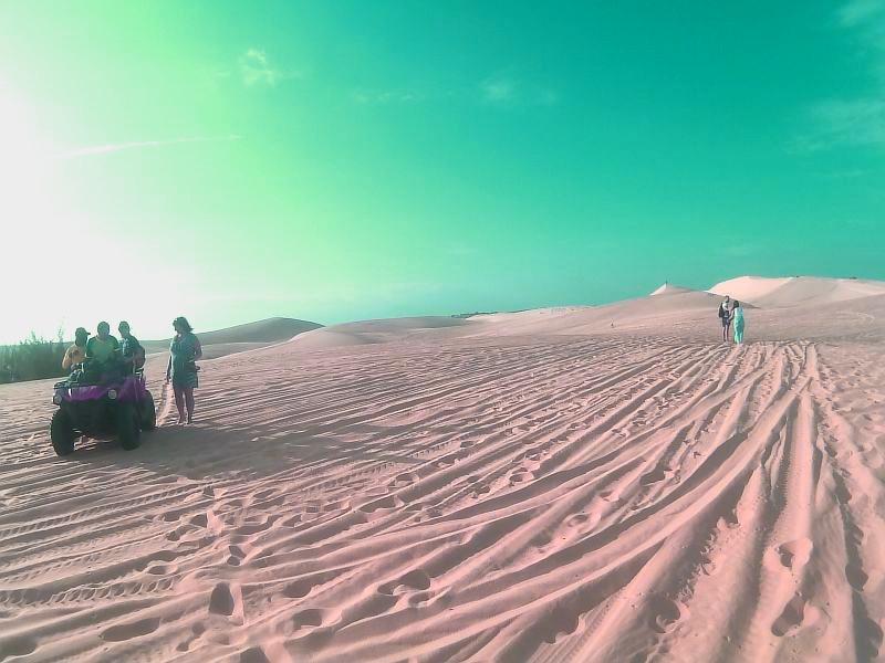 Экскурсия на белые дюны