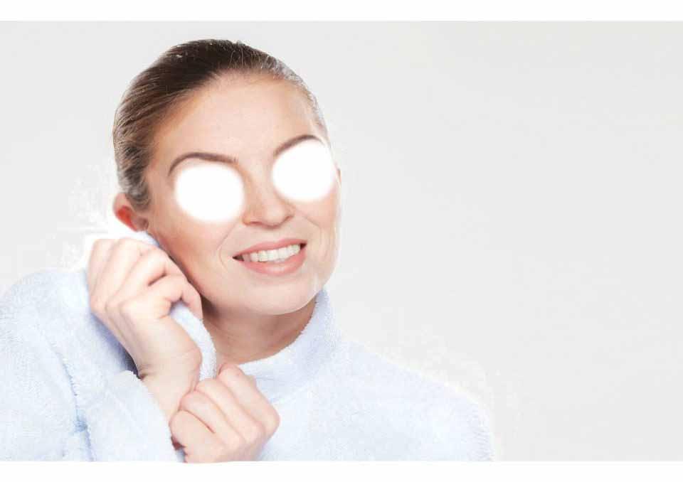 Средства для ухода за кожей вокруг глаз надо наносить с помощью ватных дисков