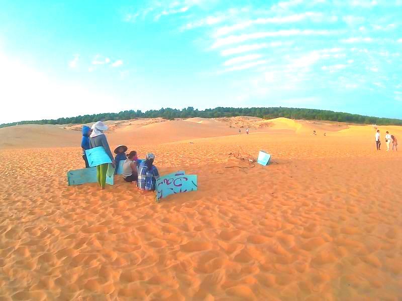 экскурсия из Муйне в красные дюны
