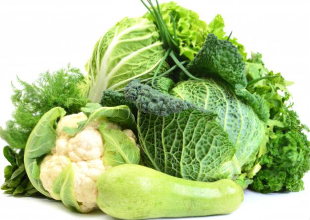 Щелочная диета рекомендует много есть зелени