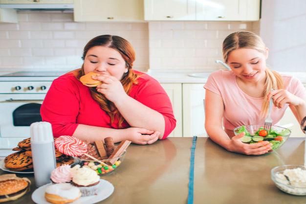 похудение в домашних условиях худой и толстой женщины