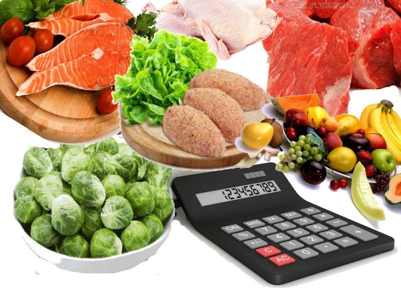 калькулятор калорий готовых блюд и пролуктов