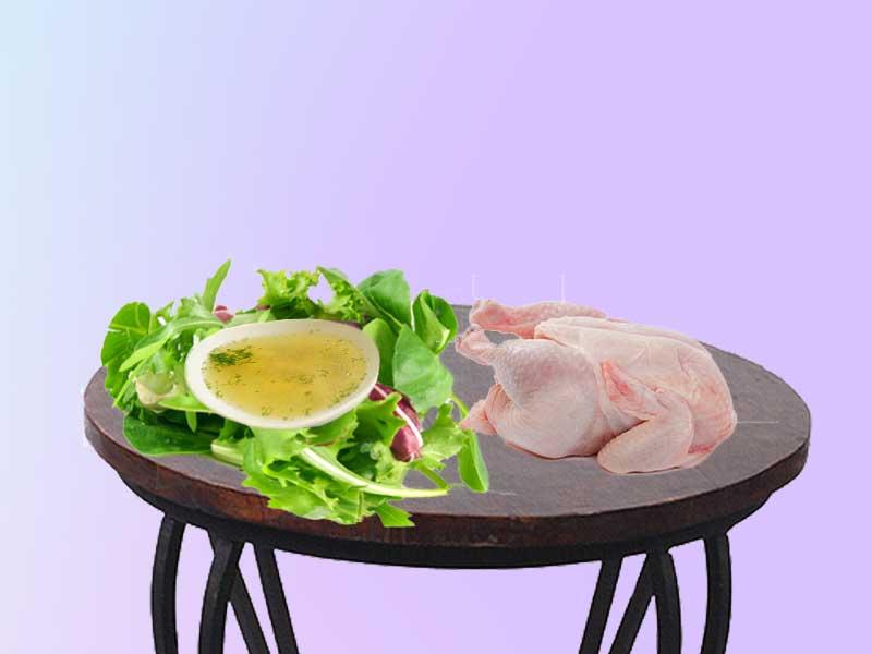 рецепты к меню диеты куриной
