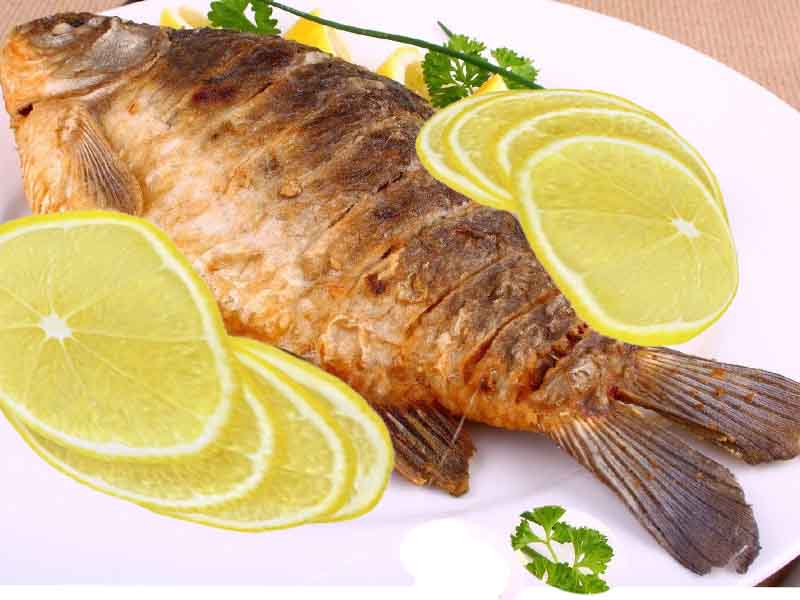 Как на рыбе диета меряет калорийность