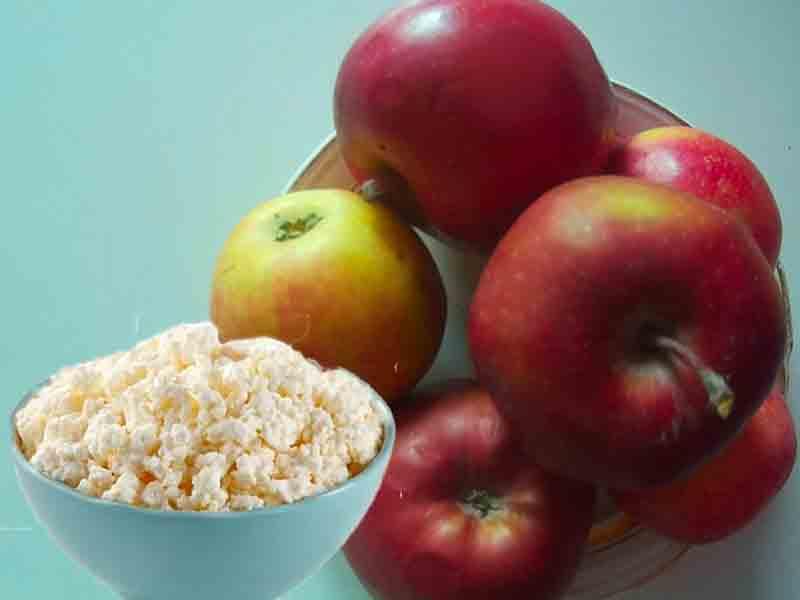 Яблочно творожная диета рецепты для нее