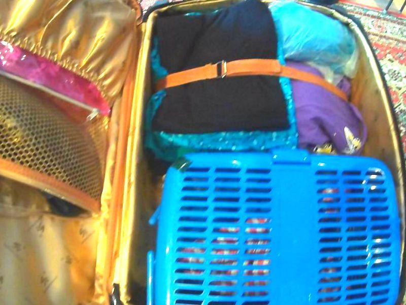 чемодан в который укладываем взять что с собой