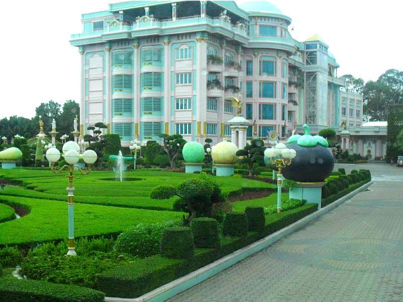 Дворец короля кур Таиланд